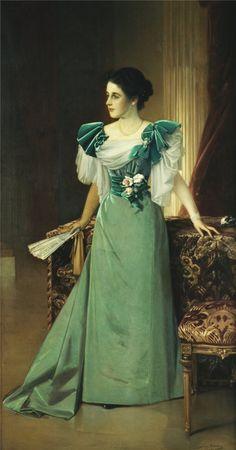 1895 Julius Kronberg - Irma von Geijer nee von Hallwyl
