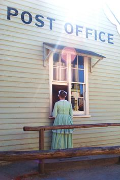 Sovereign Hill's Post Office by AyasmineA, via Flickr