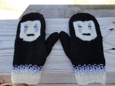 No-Face Mittens pattern by Katelynne Sherrell