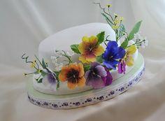 Mini Cakes, Cake Designs, Amazing Cakes, Cake Decorating, Plates, Tableware, Floral, Desserts, Food