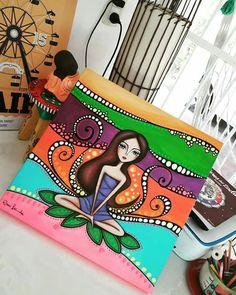Madhubani Art, Madhubani Painting, Indian Art Paintings, Happy Paintings, Indian Folk Art, Dot Art Painting, Buddha Art, Whimsical Art, Art Plastique