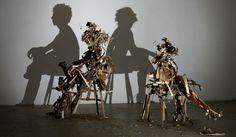 Rashad Alakbarov Paints With Shadows  Lazer Horse