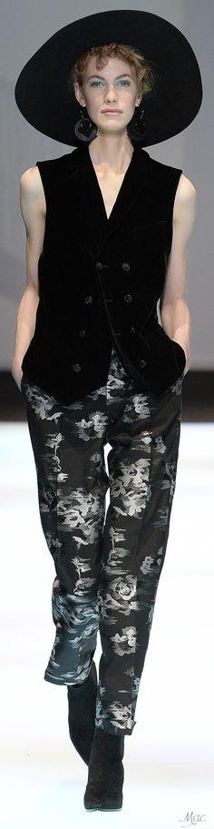 Fall 2017 RTW Collections Emporio Armani - Menswear Collection
