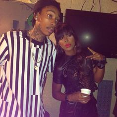 "Kelly Rowland and Wiz Khalifa collaborate on ""Gone."""