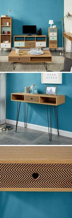 Table console extensible avec rallonges jusquu0027à 223 ou 270cm EXTENSO