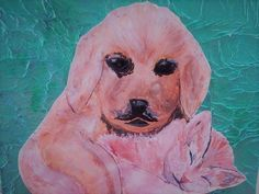 Paintings, Dogs, Animals, Animaux, Painting Art, Doggies, Animales, Painting, Paint