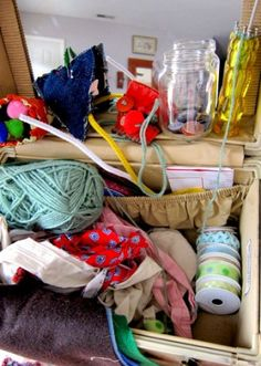 Sewing Box for Children ideas from Rhythm of the Home