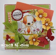 Stanley Dog Cards, Scrapbooking, My Happy Place, Card Making, Create, Card Crafts, Blog, Card Designs, Stamping
