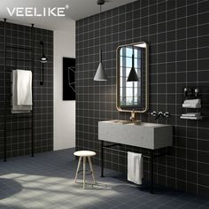 """TRICKY BORDERLESS MOSAIC TILE WALL POSTER 35/"""" x 25/"""""""