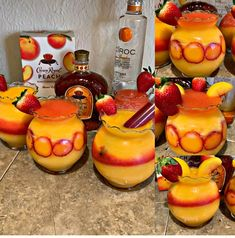 Discover recipes, home ideas, style inspiration and other ideas to try. Candy Drinks, Dessert Drinks, Fun Drinks, Beverages, Alcoholic Drinks, Desserts, Alcohol Cake, Alcohol Drink Recipes, Refreshing Drinks