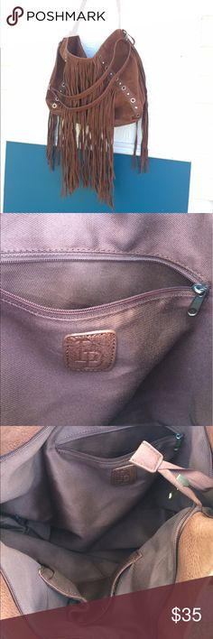 LD purse Beautiful brown leather LD purse, in new condition! LD Bags Shoulder Bags