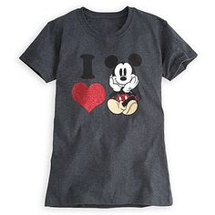Mickey Mouse Tee for Women...have it, I might have even pinned it!!!