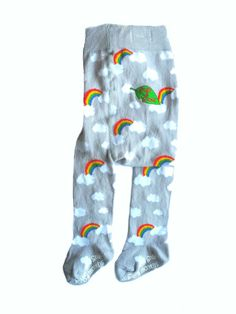 Slugs & Snails Tights - Storm - perfectly teamed with a funky tshirt for relaxed and comfortable look