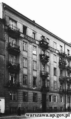 Dobra 3, Kamienica Wacława Deubla, 1937, źródło wg. sygnatury