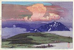 Goshikibara  by Hiroshi Yoshida, 1926
