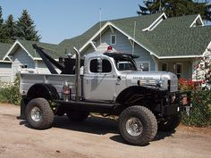 Dodge Power Wagon Wrecker. www.TravisBarlow.com - Tow Insurance and Auto Transporter Insurance for over 30 Years