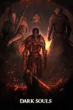 Dark Souls  Soul of Cinder by JeffWoods on DeviantArt