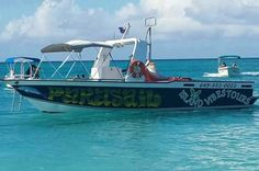 Private Providenciales Parasailing Adventure Soaring 1200 feet above azul waters with 360 degree panoramic views of Grace Bay Beach is what you will experience on this private parasailing adventure. The certified crew will ensure your private group of up to 10 passengers are attended to and briefed on safety. Then you will be ready to fly! Take off and land right off the deck of the boat. With double and triple harnesses available your parasail will carry you, your family a...