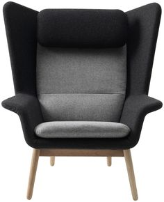 BoConcept Hamilton chair - two toned grey Felt