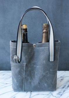 Free Pattern: Wine Tote | The Sewing Party