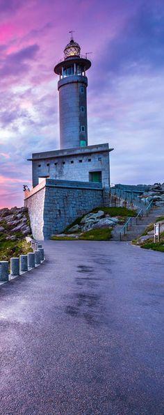 #Lighthouse of Punta Nariga, Malpica - Coruña | #Spain