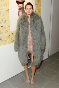 Whitney Port fur
