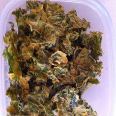 Kale chips Kale Chips, Herbs, Vegan, Food, Meal, Essen, Herb, Hoods, Meals