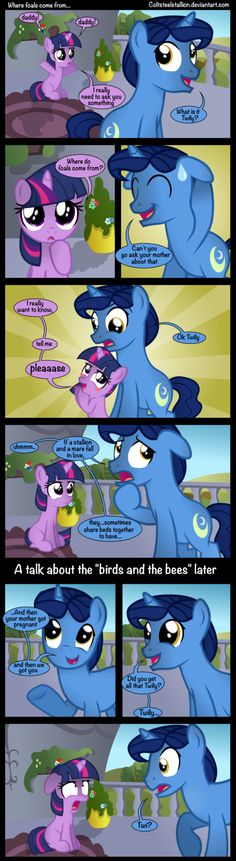 Where foals come from... by Coltsteelstallion on deviantART