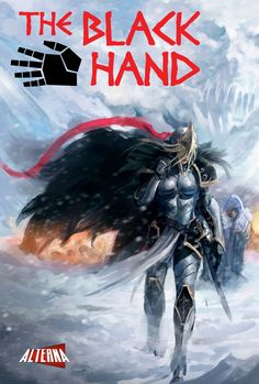 Comic Book Preview: The Black Hand - Bounding Into Comics