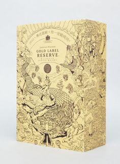 johnnie walker, packaging, year of the dragon, whisky, chinese illustration
