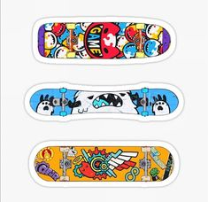 Anime Stickers, Cute Stickers, Printable Stickers, Skateboard Design, Skateboard Decks, Infinity Wallpaper, Anime Crafts, Skateboards, Animes Wallpapers