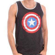 Captain America , débardeur homme