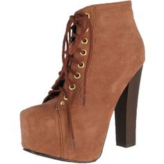Breckelles Women Britney-01 Boots ($45) ❤ liked on Polyvore featuring shoes, boots, ankle booties, booties, flat pumps, wide boots, breckelles boots, oxford flats and wedge sole boots