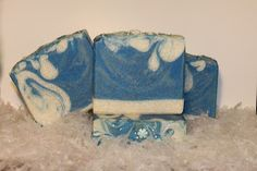 Ladybee Soaps: first snow soap, made with real snow!