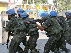 United Nations, Haiti, Troops, Brazil, Police, Military, The Unit, Law Enforcement, Military Man