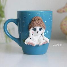 Цветовая гамма люблю синий и коричневый) из такой чашечки будет приятно выпить…