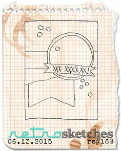 retro sketches : a challenge: retrosketches #168...