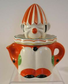 Hand-Painted Clown Reamer from Japan