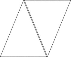 triangle template for banner