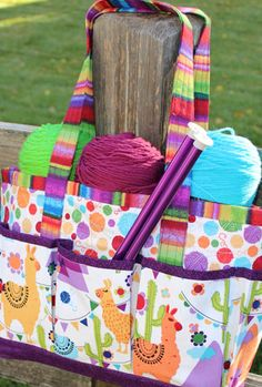 Projects to Go Tote | National Sewing Circle http://www.nationalsewingcircle.com/product/projects-to-go-tote/ #LetsSew