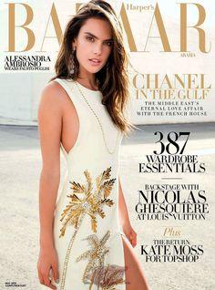 Alessandra Ambrosio by Bleacher & Everard for Harper's Bazaar Arabia May 2014