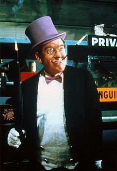 Burgess Meredith as the Penguin in TV's Batman (1966-1968).