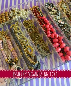 How-to organize your jewelry!
