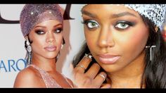 Rihanna CFDA Makeup Tutorial! Featuring Desio Forest Green Contact lenses for dark eyes. THUMBS UP FOR CELEBRITY INSPIRED LOOKS! Hey guys! I missed you all :...