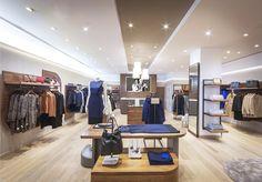 Дизайн бутика Jaeger в Лондоне – Великобритания