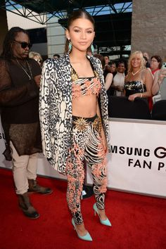 Zendaya Coleman at the 2015 Billboard Music Awards in Las Vegas. See all of the actress's best looks.