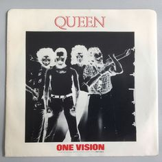 Queen - One vision - Canada - 1985 round top corners sleeve