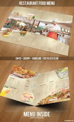 Restaurant Menu Design Templates Free | Fresh Furniture Idea | Endroits à  Visiter | Pinterest | Menu Design Templates, Menu Design And Restaurant Menu  ...  Free Downloadable Restaurant Menu Templates