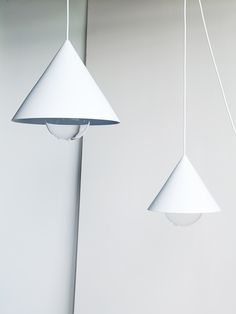 studio vit cone lighting pendants ems designblogg