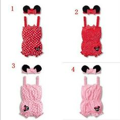 Cute headgear hair band Velcro suits Condole belt Baby Romper two-piece Baby Clothes Climb suits